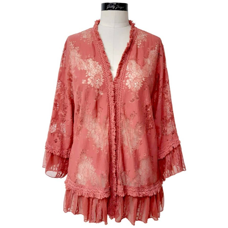 Hera Jacket Paprika - dolly mama boutique