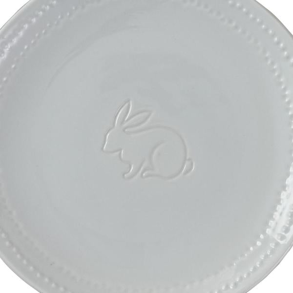 Peyton Bunny Salad Plate - dolly mama boutique