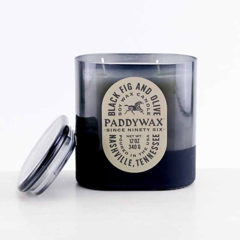 Vista - Black Fig & Olive Soy Wax Candle