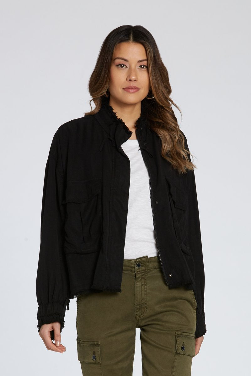 Jester Cargo Jacket - dolly mama boutique