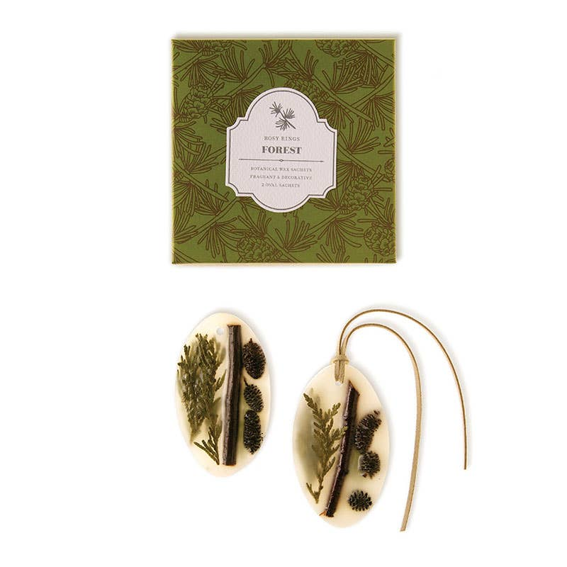 Rosy Rings Forest Botanical Wax Sachets - dolly mama boutique