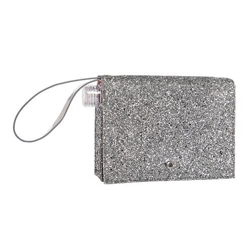 Sparkle Flask Clutch - dolly mama boutique