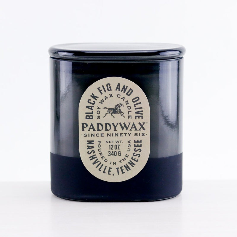 Vista - Black Fig & Olive Soy Wax Candle - dolly mama boutique