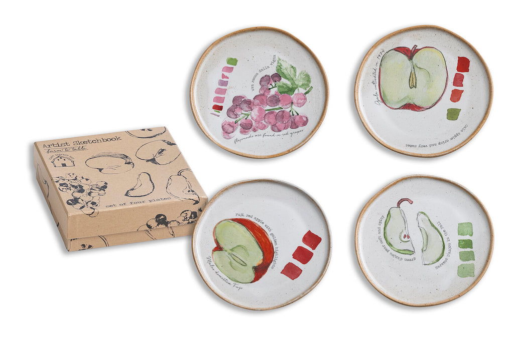 Rosanna Farm To Table Set of 4 Plates - dolly mama boutique