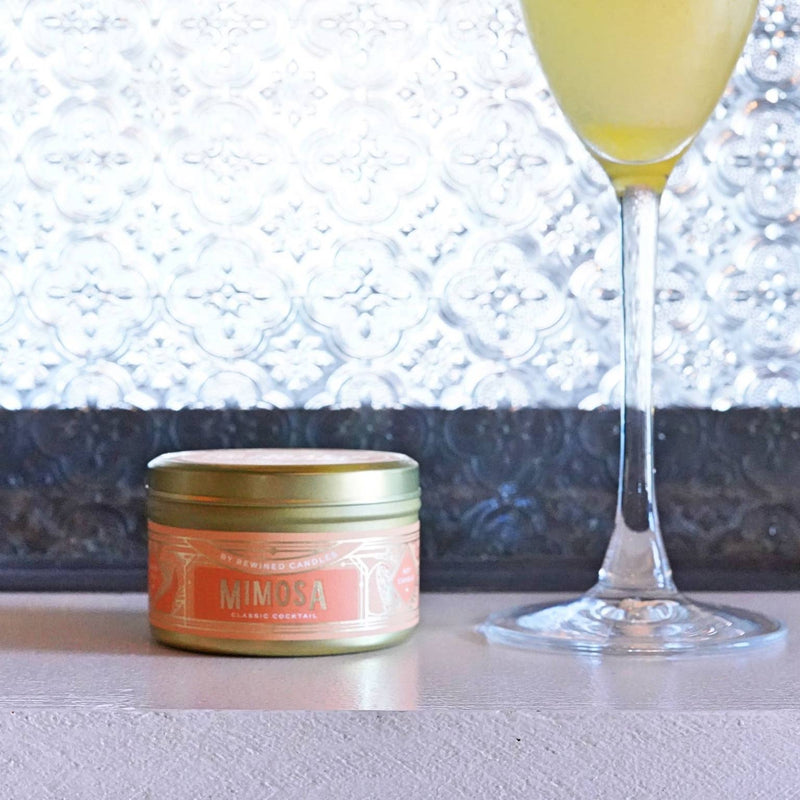 Mimosa Travel Tin Candle - dolly mama boutique