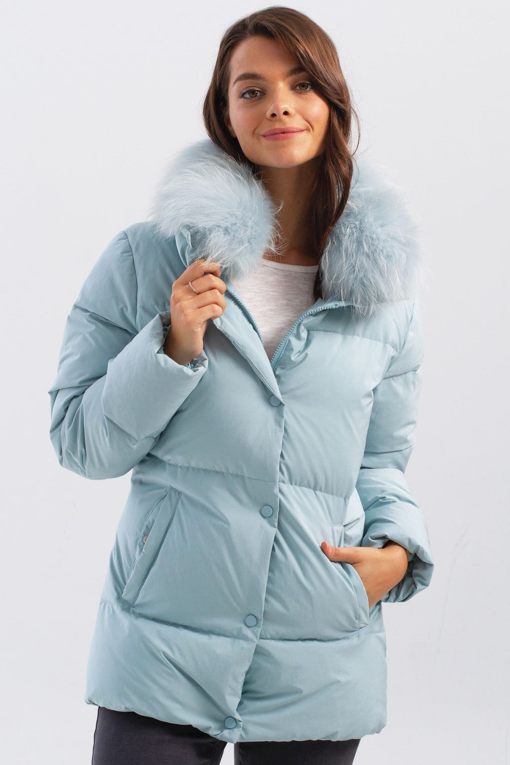 Jade Down Jacket - dolly mama boutique