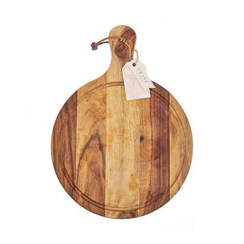 Country Home™ Acacia Wood Artisan Cheese Paddle - dolly mama boutique