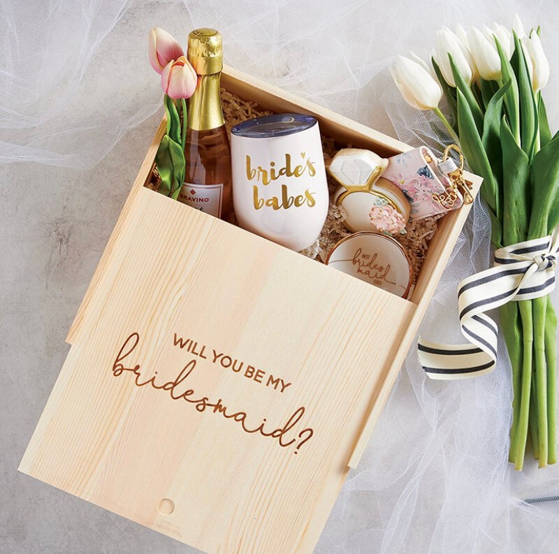 Bridesmaid Proposal Box - dolly mama boutique