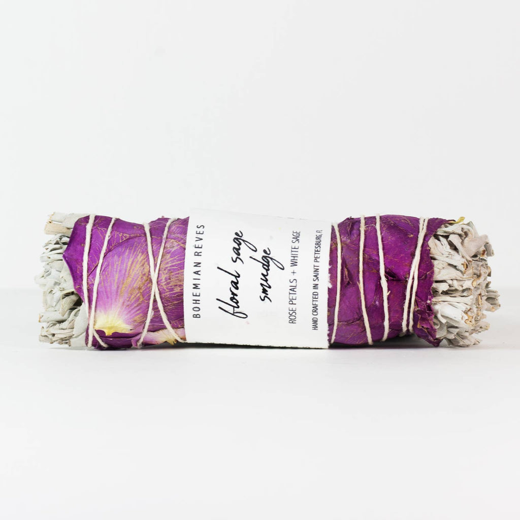 Floral Sage Smudge - dolly mama boutique