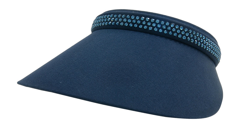 Audrey Clip-On Crystal Visor - dolly mama boutique