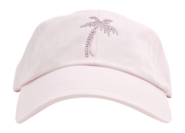 Rachel Baseball Hat, Crystal Palm