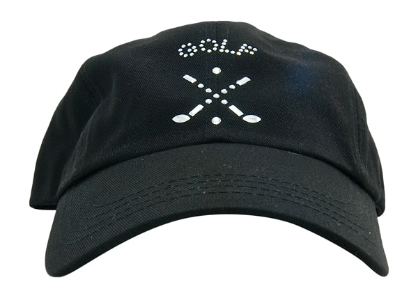 Rachel Baseball Hat, Golf Emblem - dolly mama boutique