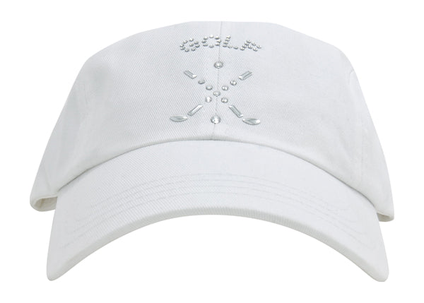 Rachel Baseball Hat, Golf & Crossed Clubs - dolly mama boutique