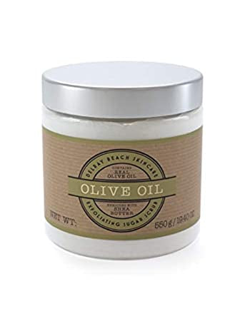 Olive Oil Exfoliating Sugar Scrub - dolly mama boutique