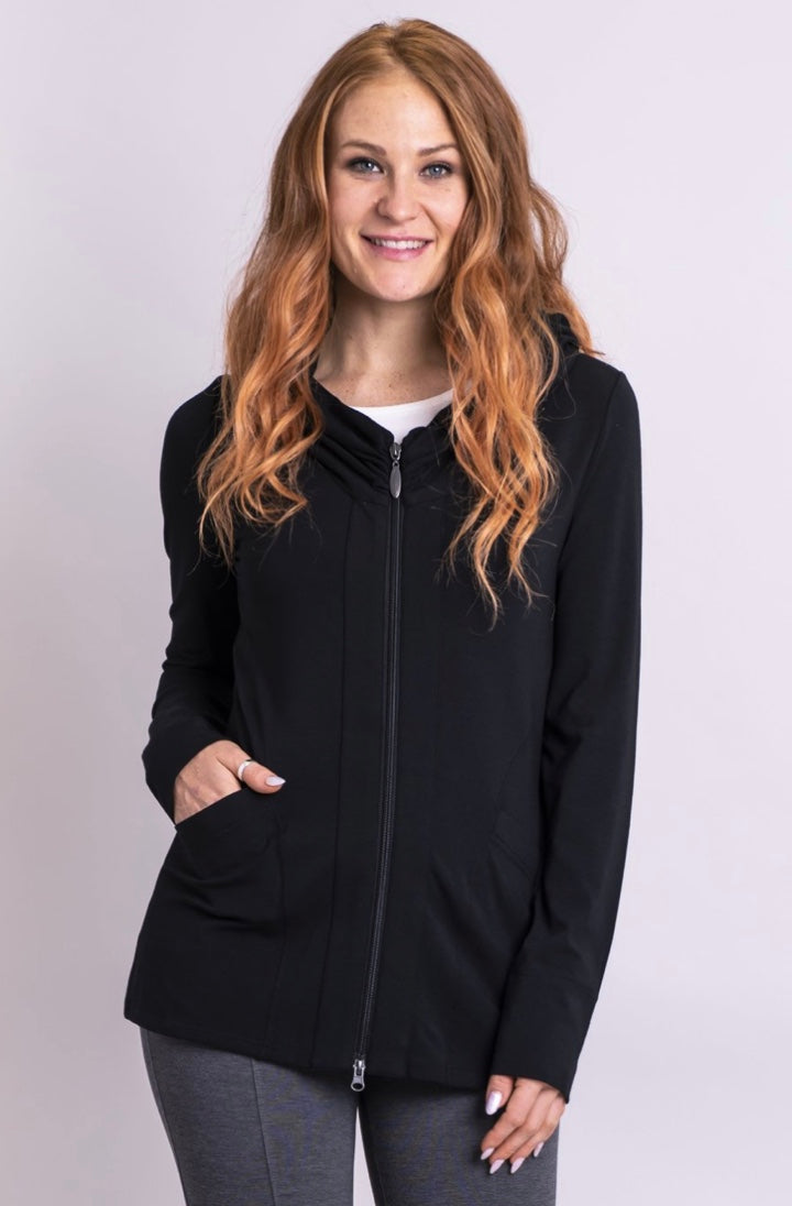 Seymour Jacket Black - dolly mama boutique