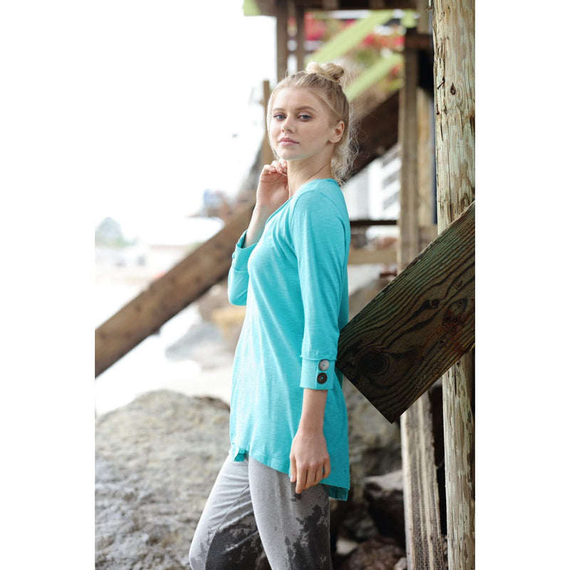 Light Breeze Tunic - dolly mama boutique
