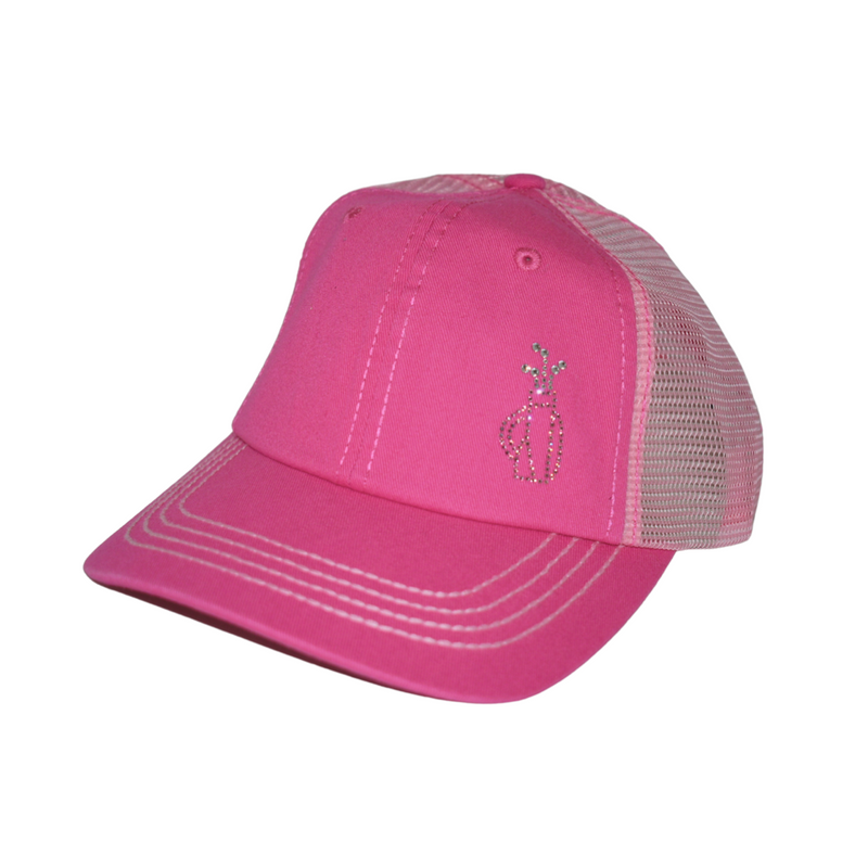 Maddie Trucker Hat - Golf Bag with Clubs - dolly mama boutique