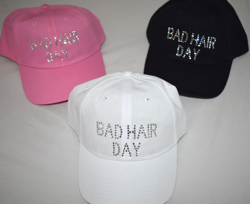 Rachel Baseball Hat, Bad Hair Day - dolly mama boutique