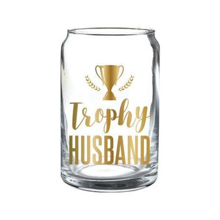 Trophy Husband Beer Glass