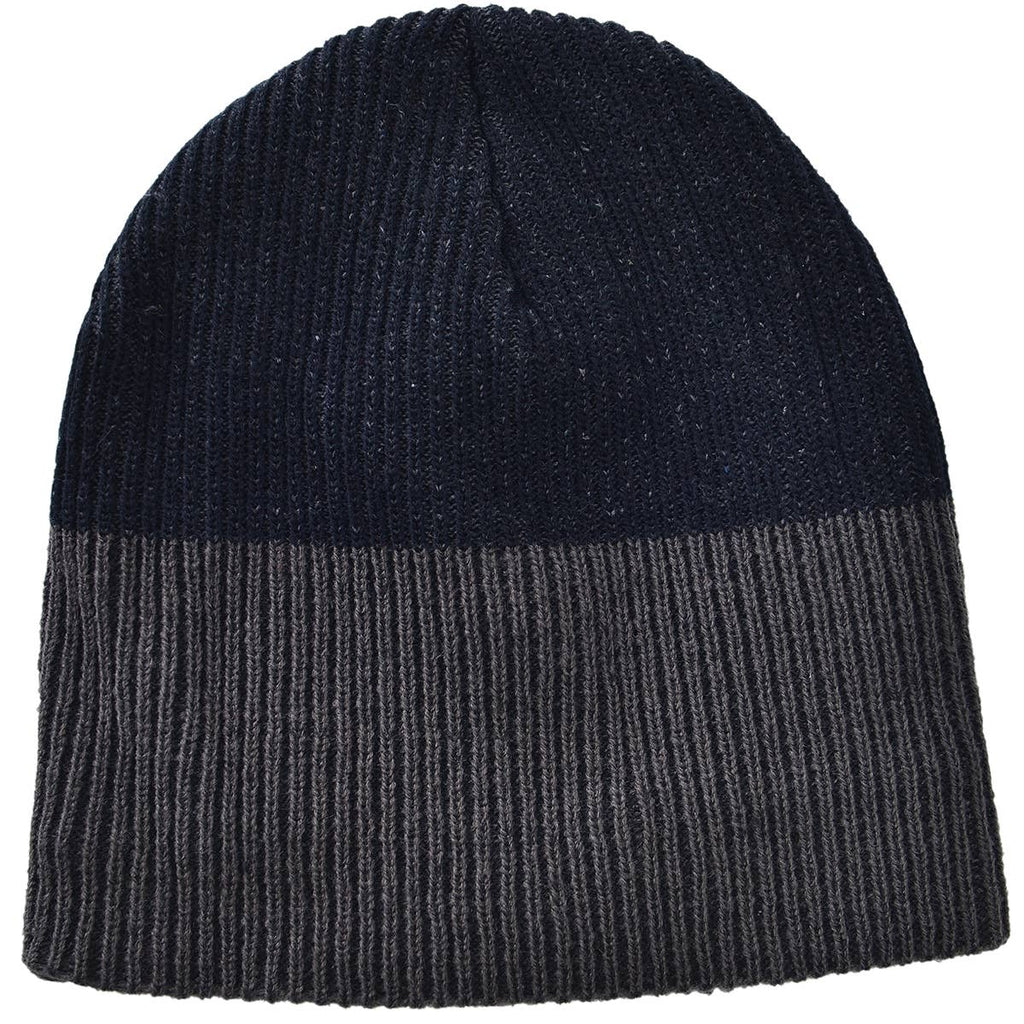 Ribbed Toboggan Beanie - dolly mama boutique