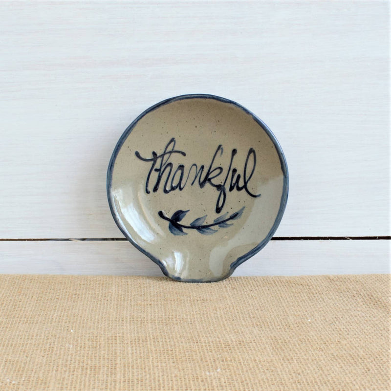 Thankful Spoon Rest - dolly mama boutique