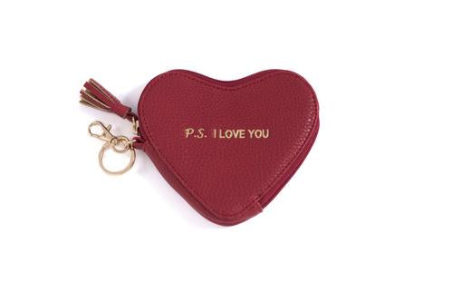 P.S. I Love You Zip Pouch - dolly mama boutique