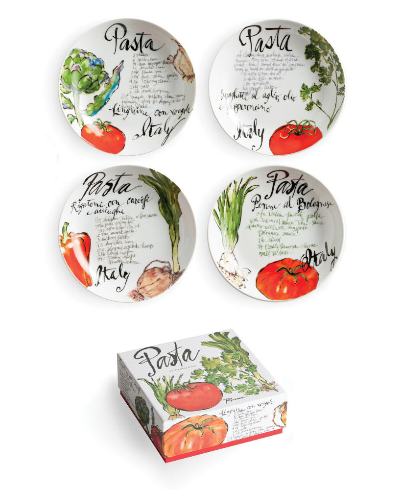 Rosanna Pasta Italiana Pasta Dishes - Set of 4 - dolly mama boutique