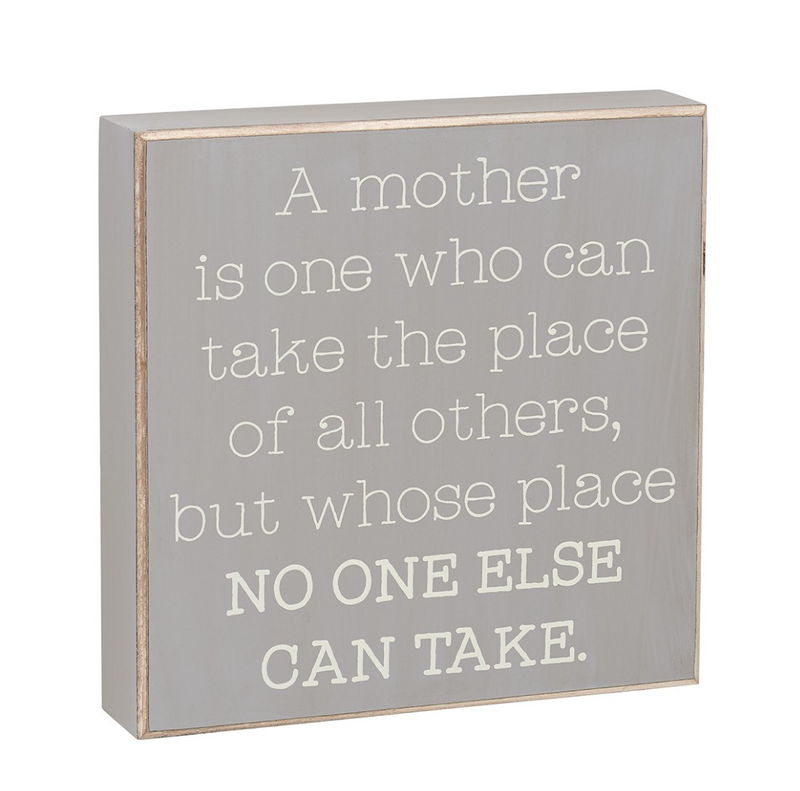 Mother's Place Wooden Sign - dolly mama boutique