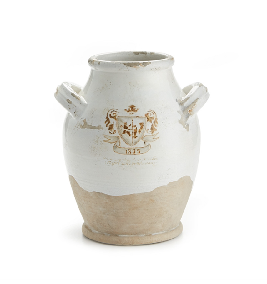 "TRIANON URN WITH HANDLES 11"" - dolly mama boutique"
