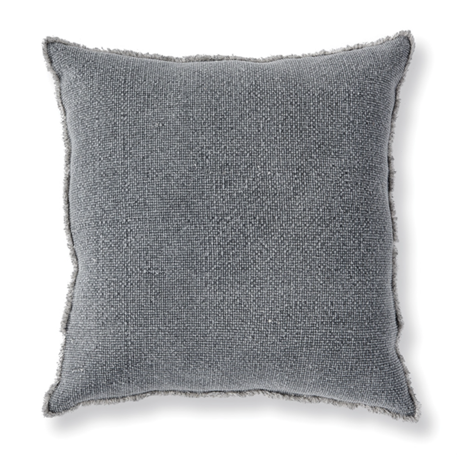 WOVEN FRINGED SQUARE EURO PILLOW - dolly mama boutique