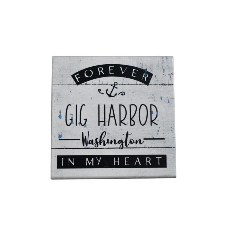 Forever Gig Harbor Box Sign - dolly mama boutique