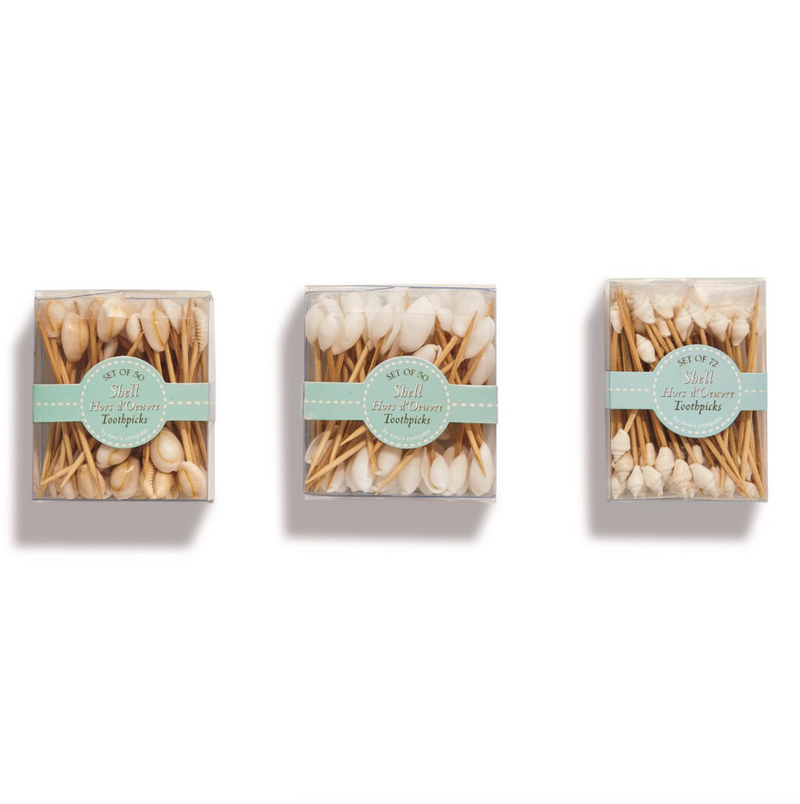 Seashell Hors D'oeuvre Pick - dolly mama boutique