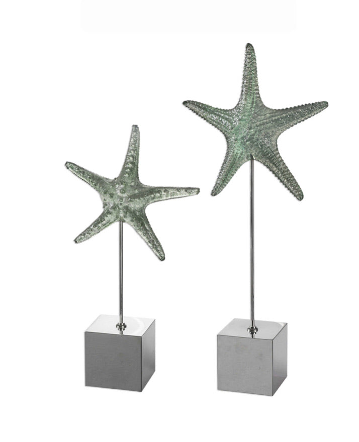 STARFISH SCULPTURE, Set of 2