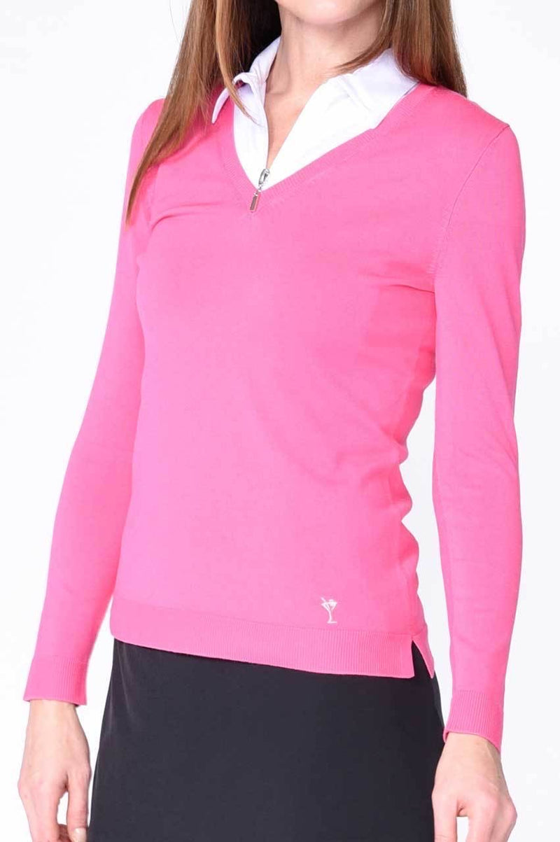 Long Sleeve V Neck Sweater - dolly mama boutique