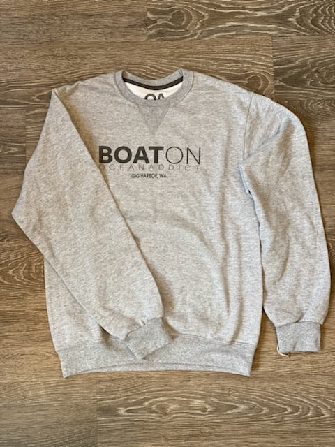 Boat On Crewneck Sweatshirt - dolly mama boutique