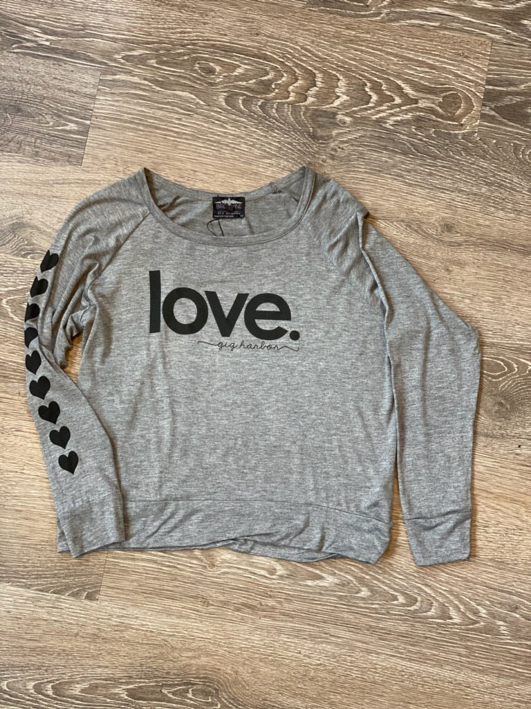 LOVE. Gig Harbor Long Sleeve Shirt - dolly mama boutique