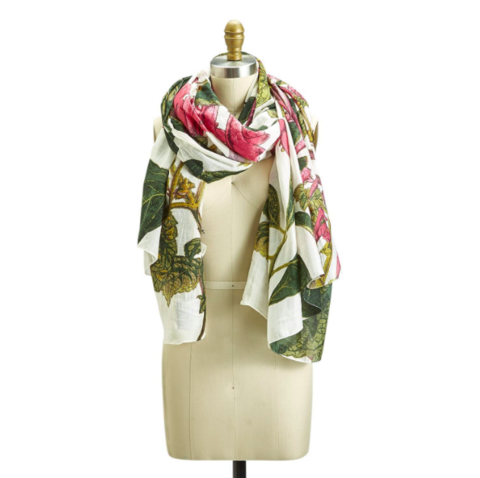 Magnolia Flower Scarf - dolly mama boutique