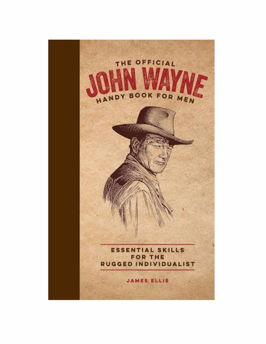 John Wayne Handy Book For Men - dolly mama boutique