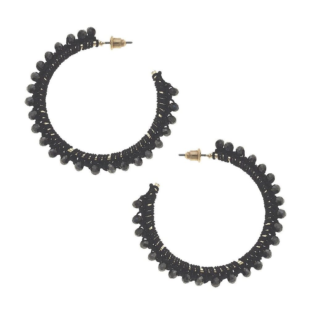 Stella Hoop Earrings - dolly mama boutique