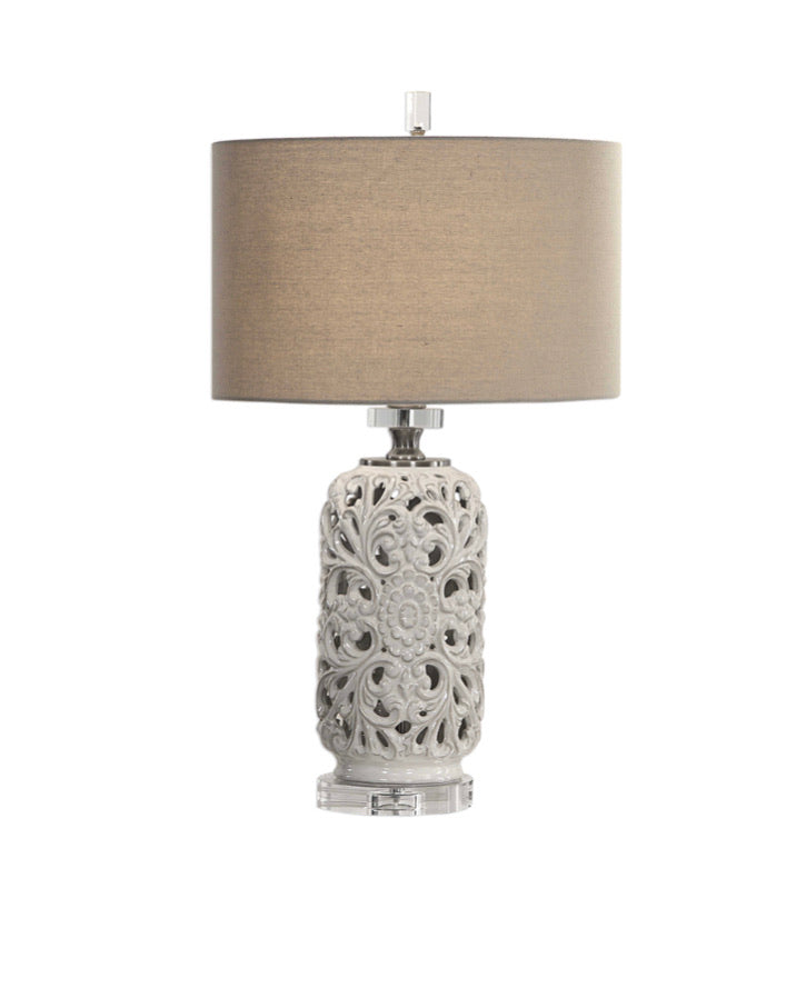 DAHLINA TABLE LAMP - dolly mama boutique