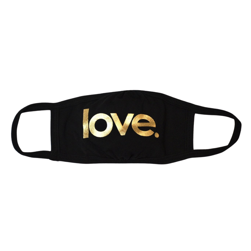 COTTON MASKS / FACE COVERINGS - love. - dolly mama boutique