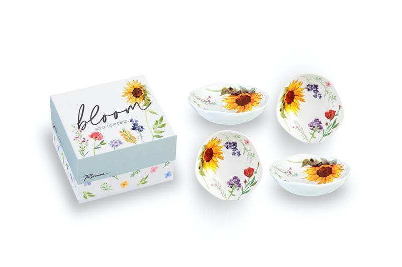 Bloom Dipping Dish S/4 - dolly mama boutique