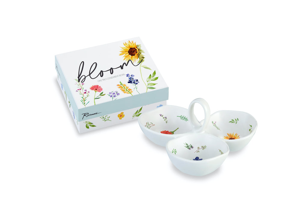 Bloom Trio Dish - dolly mama boutique