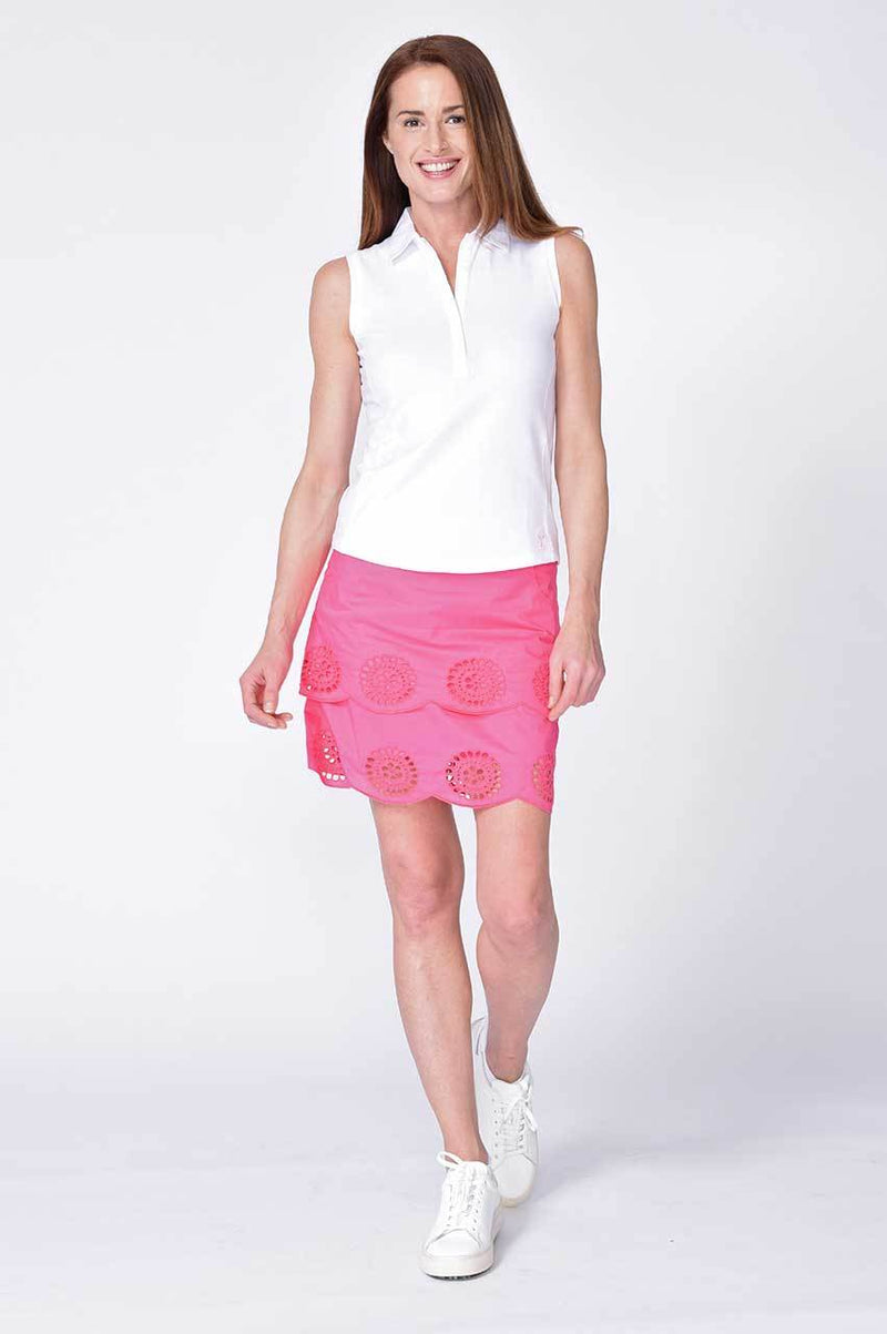 Pretty Woman Stretch Cotton Skort - dolly mama boutique