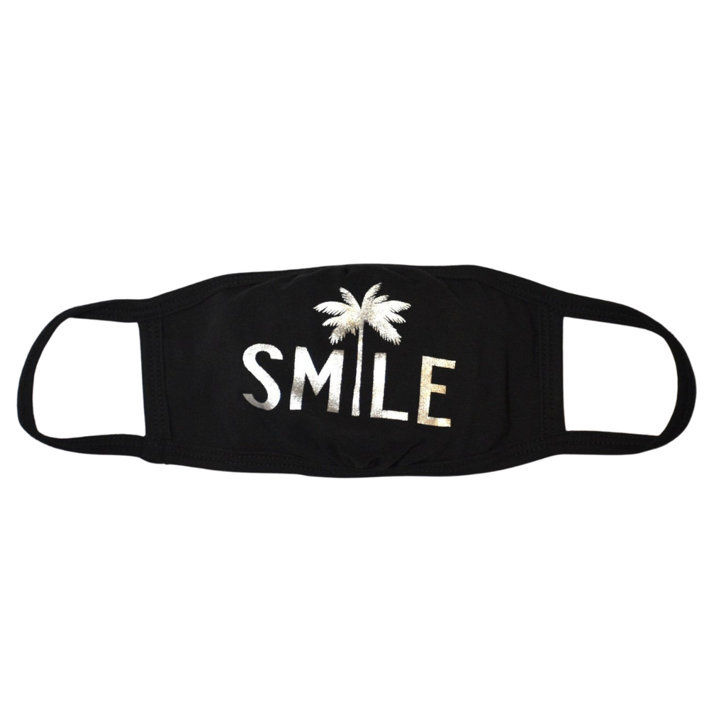 COTTON MASKS / FACE COVERINGS - SMILE