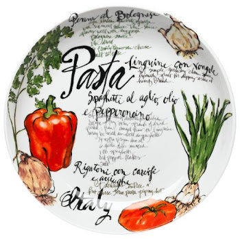 Rosanna Pasta Italiana Large Serving Bowl - dolly mama boutique