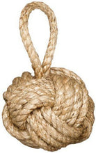 Two's Company Jute Knot Door Stopper