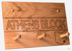 Athens Block Coat Rack