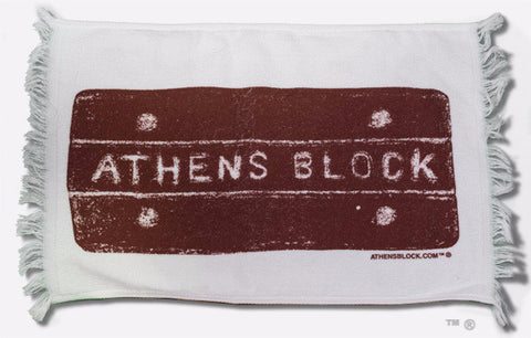 Athens Block Golf Towel