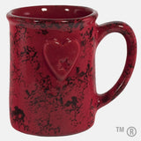 Athens Mug (Back) Black and Red